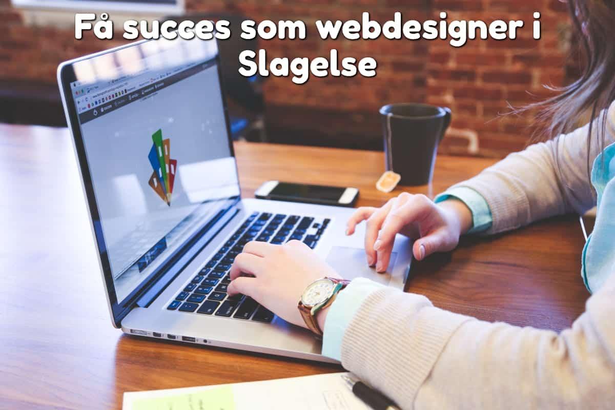 Få succes som webdesigner i Slagelse